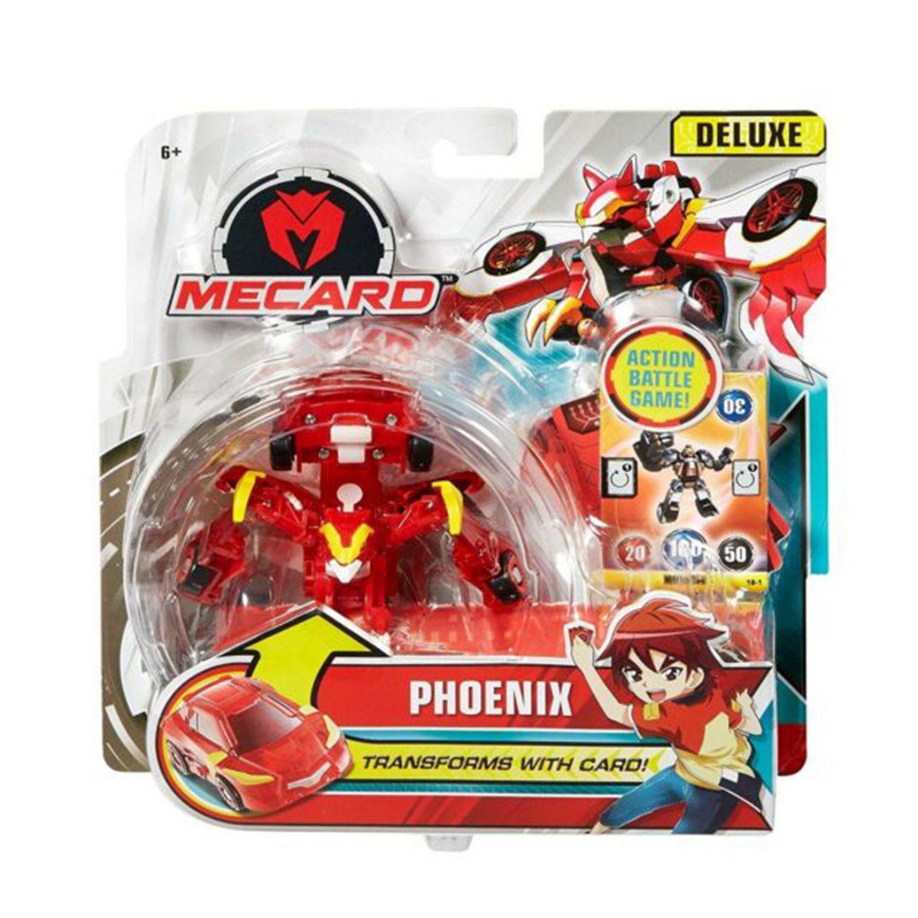 Mecard Deluxe Phoenix red