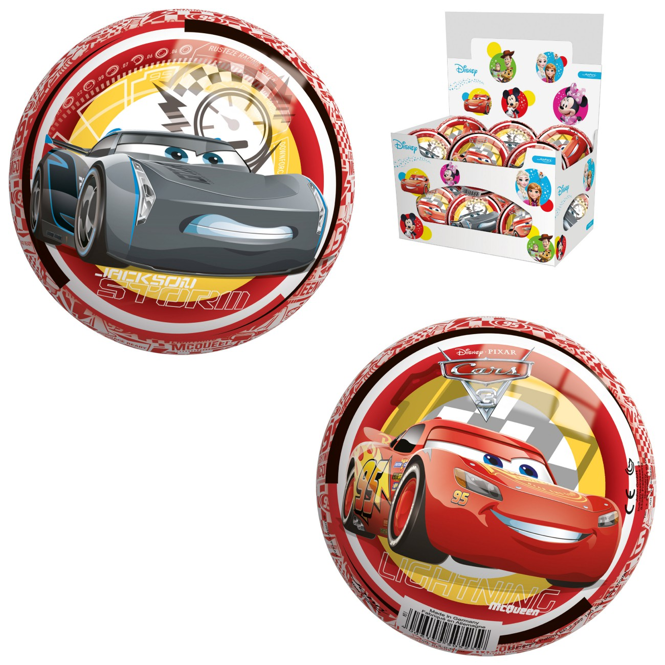 Žoga Cars 13cm