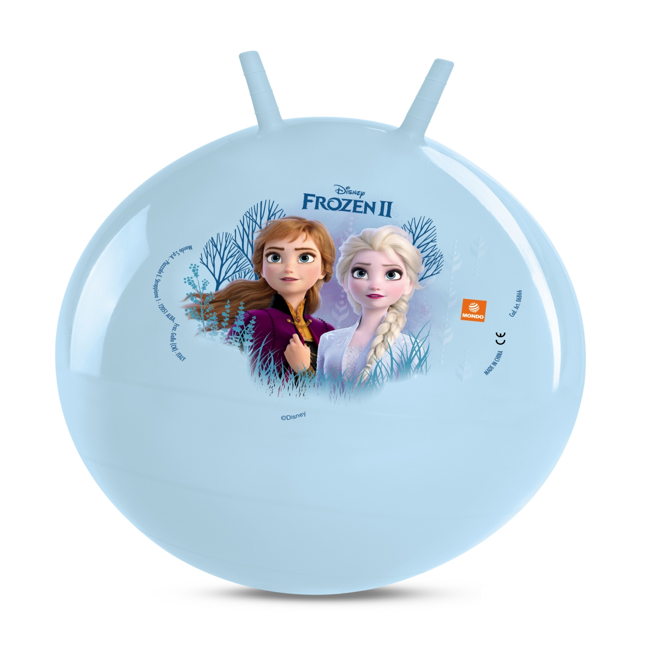 Žoga za skakanje Frozen 45-50c