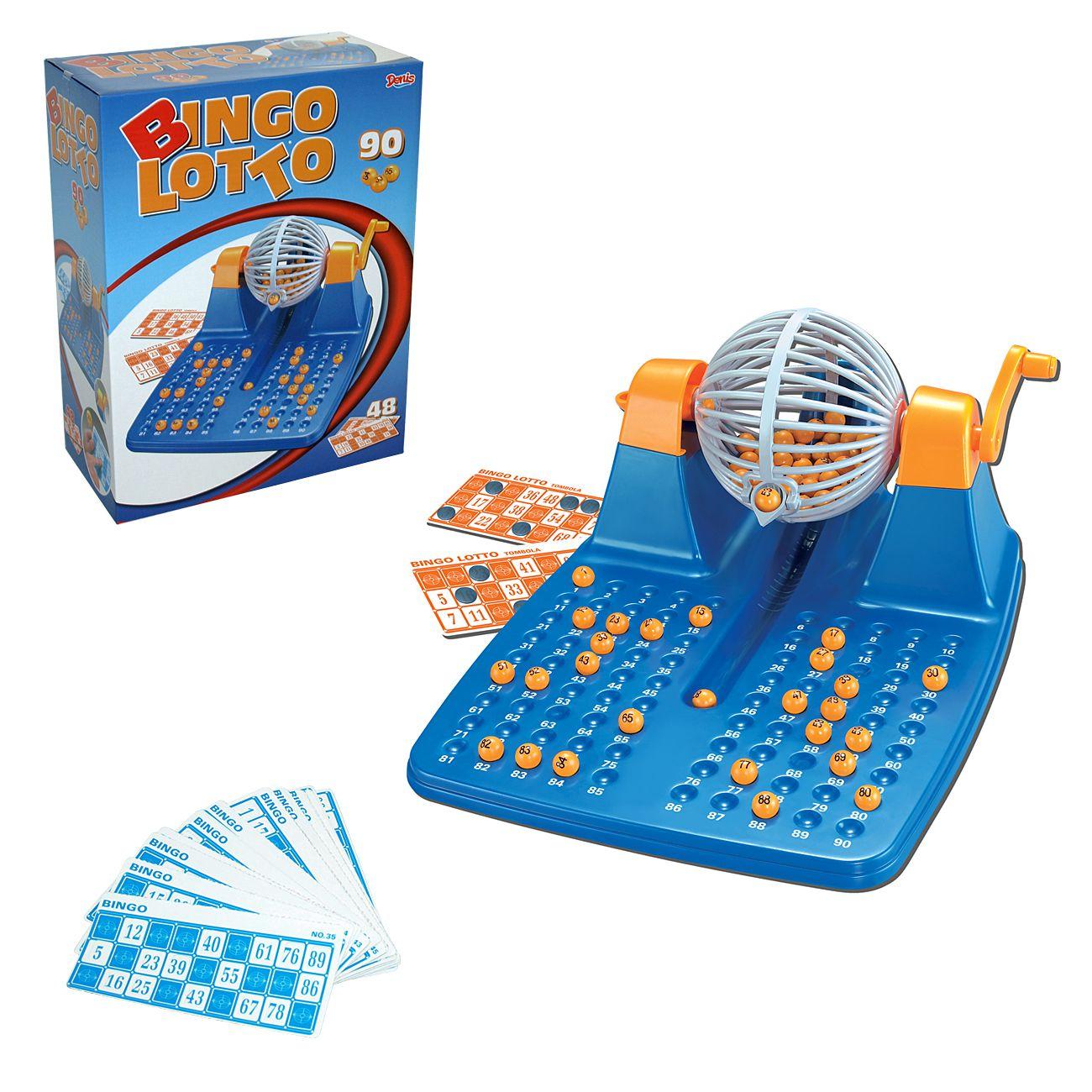 Bingo Lotto, družabna igra