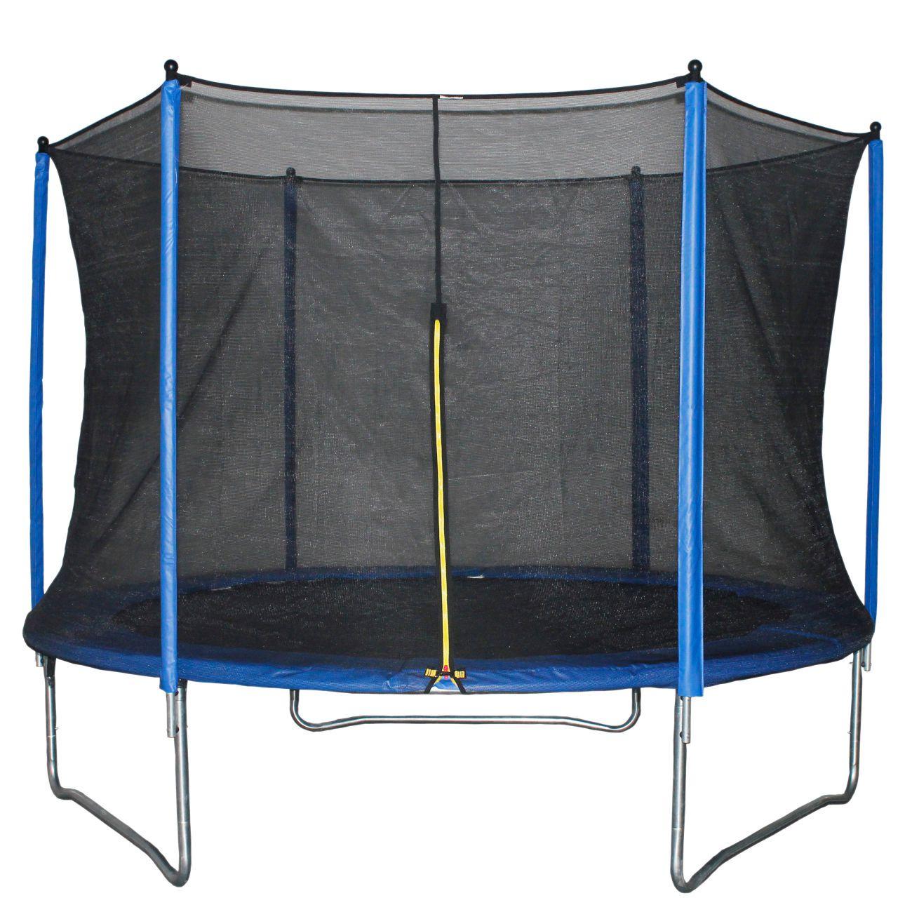 Trampolin z mrežo,244 cm