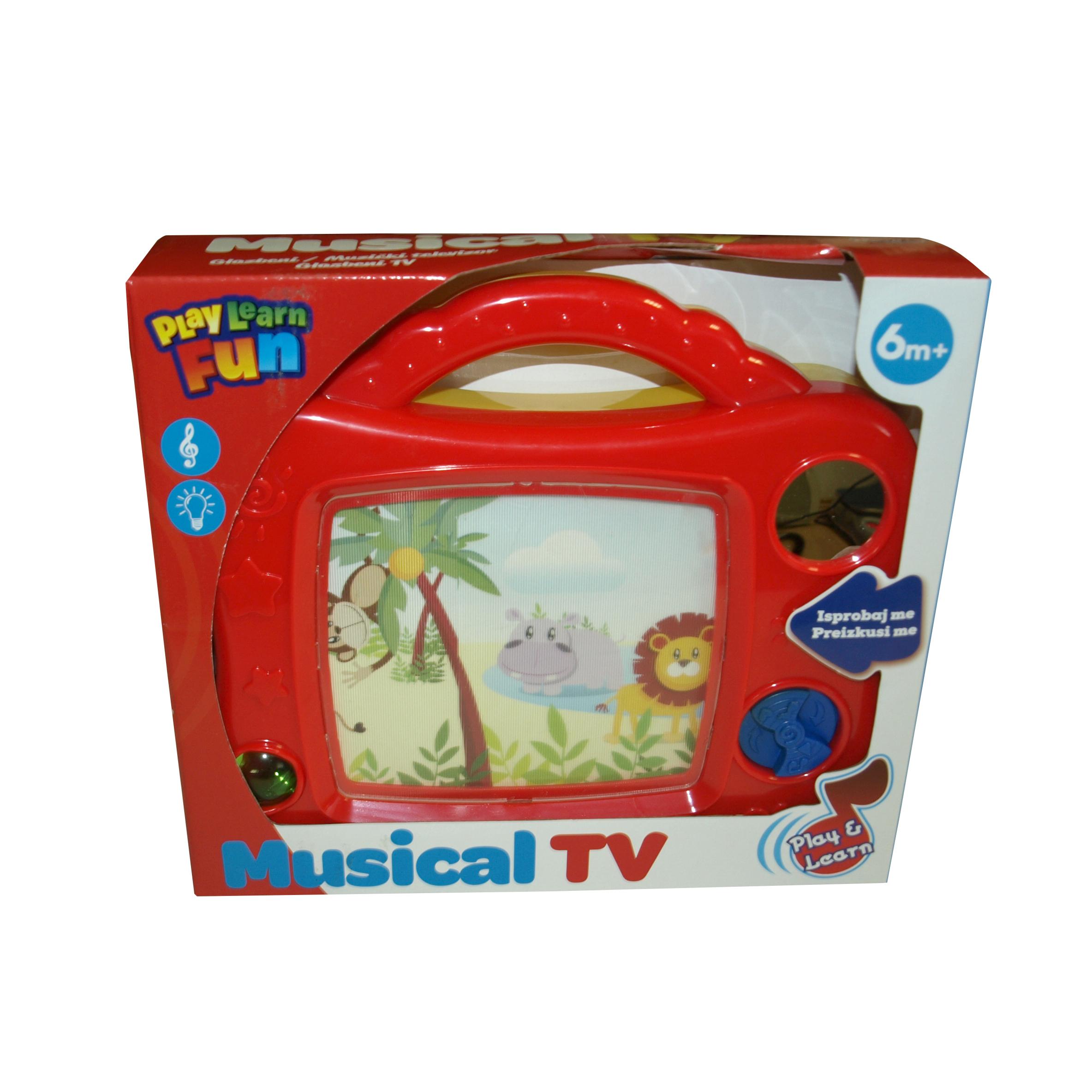 Glasbena igrača TV