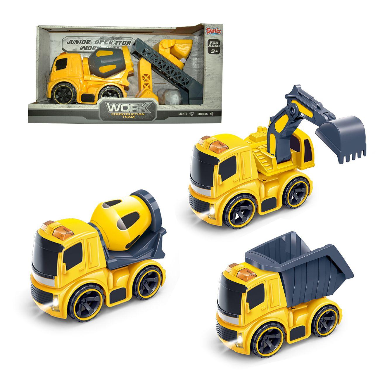 Building machines set 3ass