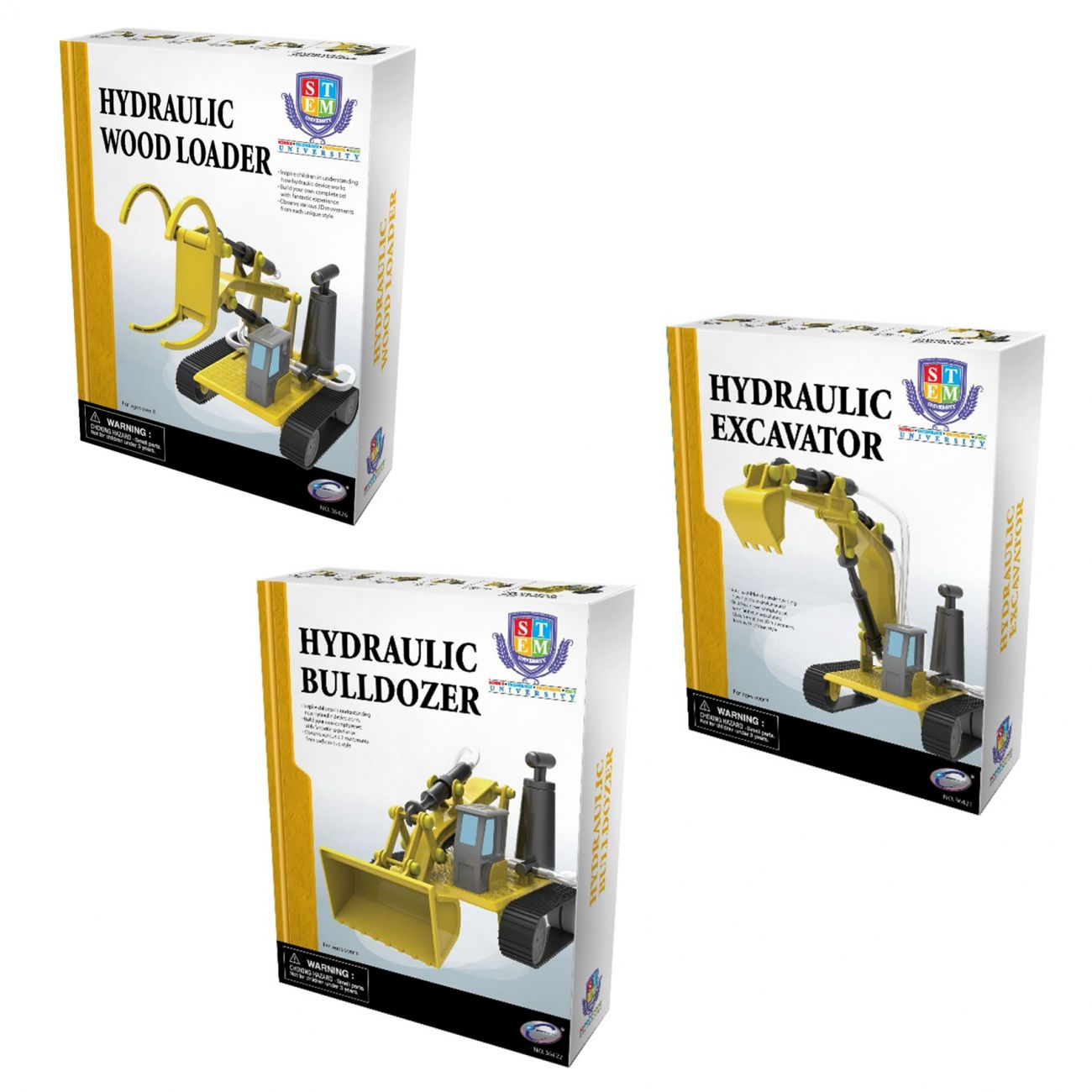 Hidravlični stroji, 3 vrste
