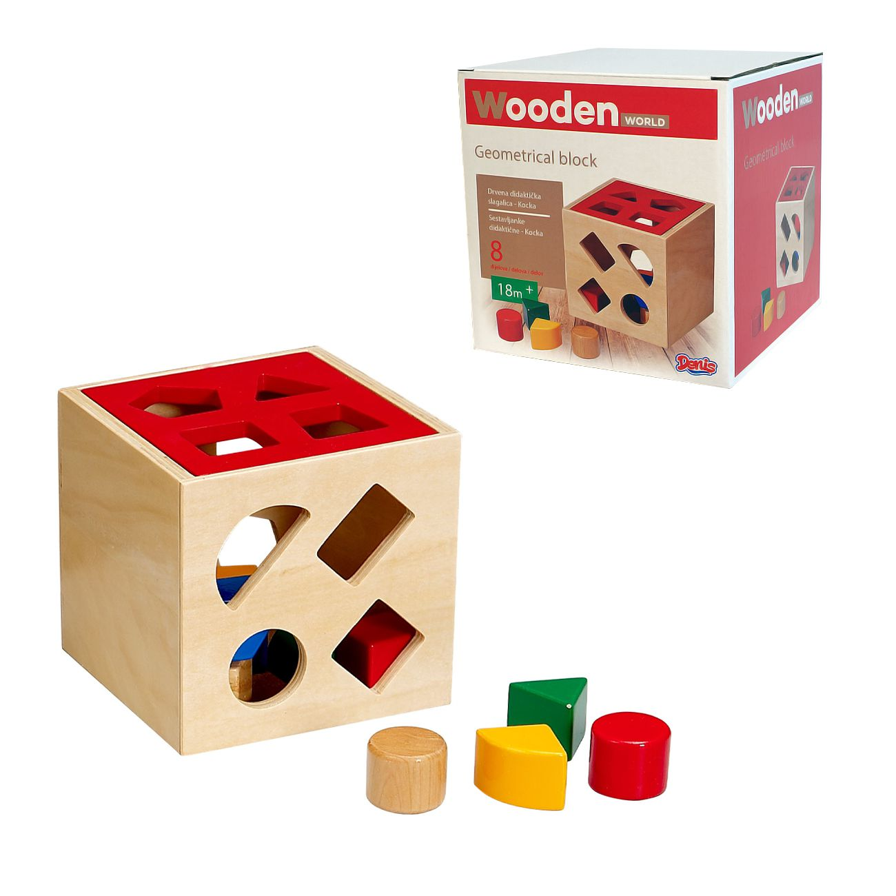Sestavljanke didaktične-kocka