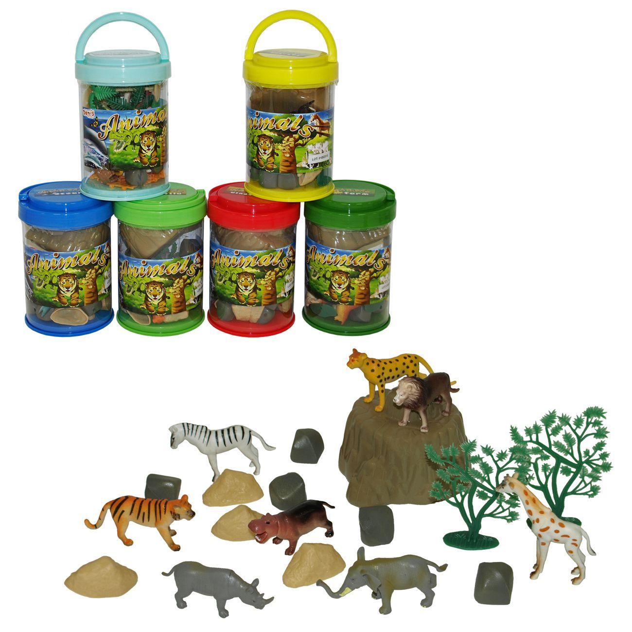 Živali, 6 vrst