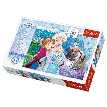 30 delna sestavljanka Frozen