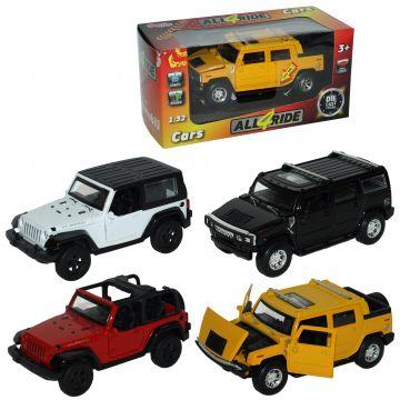 Avto Jeep na vzmet,4 vrste