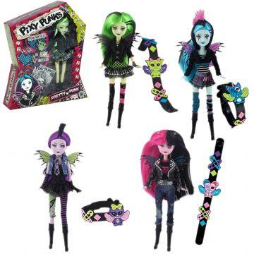 Pixxi Punk punčka z dodatki