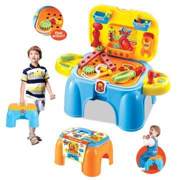 Mizica z orodjem - stolček