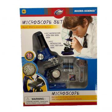 Mikroskop 33 set, bat.